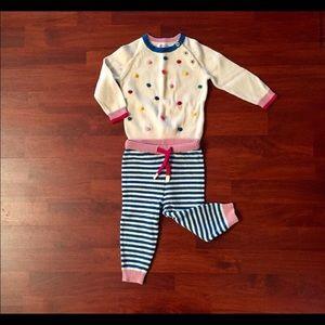 Baby Biden sweater set baby girl